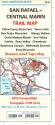 Buy map Marin, Central and San Rafael, California Trail Map by Tom Harrison Maps