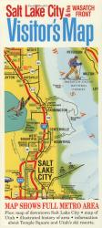 Buy map Salt Lake City, Utah, Visitors Map by Carol Mendel from Utah Maps Store