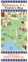 Buy map Washington, DC, Visitors Map by Carol Mendel from District of Columbia Maps Store