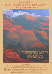 Buy map Grand Canyon National Park, Arizona, Hiking Map and Guide by Earthwalk Press from Arizona Maps Store
