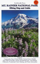 Buy map Mount Rainier National Park, Washington, waterproof by Earthwalk Press from Washington Maps Store
