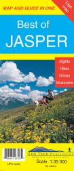 Buy map Jasper, Alberta, Best of by Gem Trek