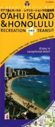 Buy map Oahu and Honolulu, Recreation and Transit by Great Pacific Recreation & Travel Maps