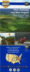 Buy map Ohio, Kentucky and West Virginia, Regional Scenic Tours by MAD Maps from United States Maps Store