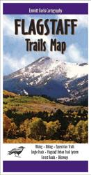 Buy map Flagstaff, Arizona, Trails Map by Emmitt Barks Cartography from Arizona Maps Store