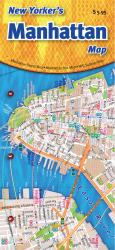 Buy map Manhattan, New York, The New Yorkers Bus and Subway Map by Opus Publishing