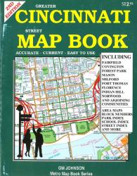 Buy map Cincinnati, Ohio, Street Map Atlas by GM Johnson from Ohio Maps Store