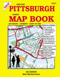 Buy map Pittsburgh, Pennsylvania, Street Atlas by GM Johnson