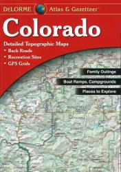 Buy map Colorado, Atlas and Gazetteer by DeLorme from Colorado Maps Store