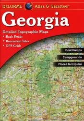 Buy map Georgia, Atlas and Gazetteer by DeLorme from Georgia Maps Store