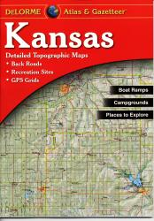 Buy map Kansas, Atlas and Gazetteer by DeLorme from Kansas Maps Store