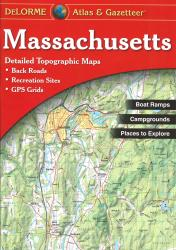 Buy map Massachusetts, Atlas and Gazetteer by DeLorme