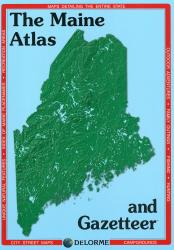 Buy map Maine, Atlas and Gazetteer by DeLorme from Maine Maps Store