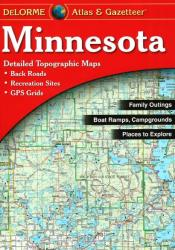 Buy map Minnesota, Atlas and Gazetteer by DeLorme from Minnesota Maps Store