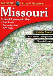 Buy map Missouri, Atlas and Gazetteer by DeLorme from Missouri Maps Store