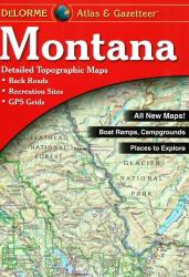 Buy map Montana, Atlas and Gazetteer by DeLorme
