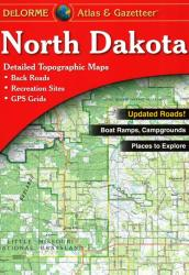 Buy map North Dakota, Atlas and Gazetteer by DeLorme from North Dakota Maps Store