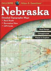 Buy map Nebraska, Atlas and Gazetteer by DeLorme from Nebraska Maps Store