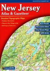 Buy map New Jersey, Atlas and Gazetteer by DeLorme from New Jersey Maps Store