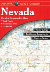 Buy map Nevada, Atlas and Gazetteer by DeLorme from Nevada Maps Store