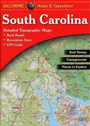 Buy map South Carolina, Atlas and Gazetteer by DeLorme from South Carolina Maps Store