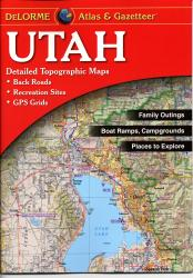Buy map Utah, Atlas and Gazetteer by DeLorme