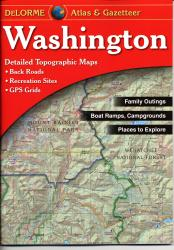 Buy map Washington, Atlas and Gazetteer by DeLorme from Washington Maps Store