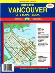 Buy map Vancouver, Canada, Atlas by GM Johnson from British Columbia Maps Store