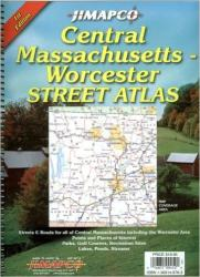Buy map Massachusetts, Central, Atlas by Jimapco from Massachusetts Maps Store