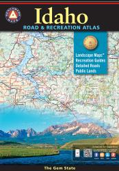 Buy map Idaho Road and Recreation Atlas by Benchmark Maps from Idaho Maps Store
