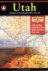 Buy map Utah Road and Recreation Atlas by Benchmark Maps from Utah Maps Store
