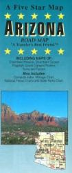 Buy map Arizona by Five Star Maps, Inc. from Arizona Maps Store