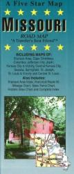 Buy map Missouri by Five Star Maps, Inc. from Missouri Maps Store