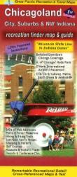 Buy map Chicagoland, Illinois, Recreation Map by Great Pacific Recreation & Travel Maps from Illinois Maps Store