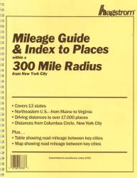 Buy map New York City, New York, 300-Mile Radius Index/Guide by Kappa Map Group from New York Maps Store