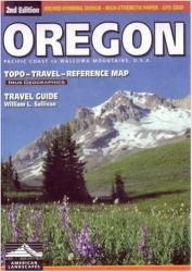 Buy map Oregon, Road Map and Travel Guide by Imus Geographics from Oregon Maps Store