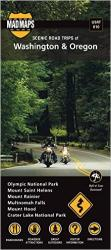 Buy map Oregon and Washington, Regional Scenic Tours by MAD Maps from United States Maps Store