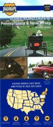 Buy map Pennsylvania and New Jersey, Scenic Road Trips by MAD Maps from United States Maps Store