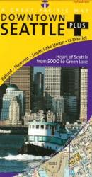 Buy map Seattle, Downtown, Washington by Great Pacific Recreation & Travel Maps from Washington Maps Store