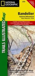 Buy map Bandelier National Monument, New Mexico, Map 209 by National Geographic Maps from New Mexico Maps Store