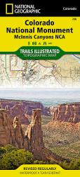 Buy map Colorado National Monument/McInnis Canyons, Map 208 by National Geographic Maps from Colorado Maps Store