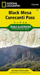 Buy map Black Mesa and Curecanti Pass, Colorado, Map 134 by National Geographic Maps from Colorado Maps Store