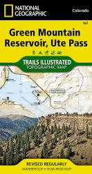 Buy map Green Mountain Reservoir and Ute Pass, Map 107 by National Geographic Maps