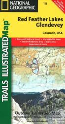 Buy map Red Feather Lakes and Glendevey, Map 111 by National Geographic Maps from Colorado Maps Store