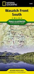 Buy map Uinta National Forest, Timpanogos and Lone Peak, Map 701 by National Geographic Maps from Utah Maps Store