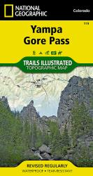Buy map Yampa and Gore Pass, Colorado, Map 119 by National Geographic Maps