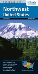 Buy map United States, Northwest by Hema Maps from United States Maps Store