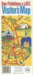 Buy map San Francisco Bay Area, California, Visitors Map by Carol Mendel from California Maps Store