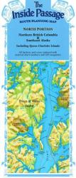 Buy map Inside Passage, Alaska and Canada, North Portion by Fine Edge from Alaska Maps Store