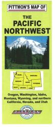 Buy map Pacific Northwest by Pittmon Map Company from United States Maps Store